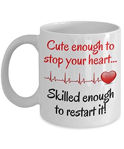 Krankenschwestergeschenk - lustige Krankenschwester-Kaffeetasse ein cooles, einzigartiges Geschenk für geregistrierten, Praktiker, Studenten, zugelassenen Krankenpflege-Assistenten