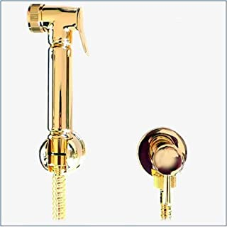 KIT6750: Thermostatic Pre-set Warm Water Bidet Shower Kit in Gold finish