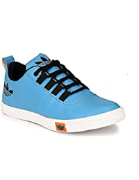 VAZEE Mens LACE-UP Casual Sneakers Shoes (SKY BLUE)