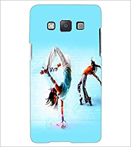 PrintDhaba Dance D-2267 Back Case Cover for SAMSUNG GALAXY E5 (Multi-Coloured)