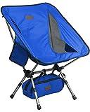 Trekology kompakter tragbarer Camping-Stuhl mit Verstellbarer Höhe – Ultraleichtwandern-Stuhl in