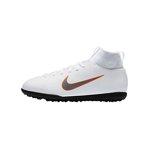 premium selection 4223f 63eb5 Nike - JR Superfly 6 Club TF - AH7345107 - Couleur  Blanc - Pointure
