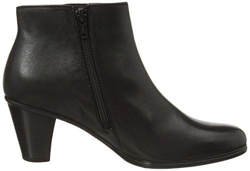 Gabor Shoes 35.614 Damen Kurzschaft Stiefel Schwarz (schwarz (Micro) 27)