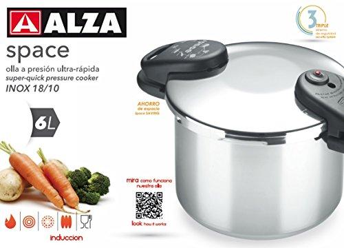 ALZA Space - Olla a presión super rápida (2,5 litros)