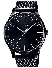 Casio Reloj Analogico para Unisex de Cuarzo con Correa en Acero Inoxidable LTP-E140B-1AEF