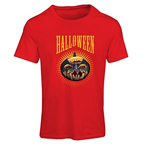Planète Costumes Pour Halloween - N4273F T-shirt femme Halloween (Small Rouge