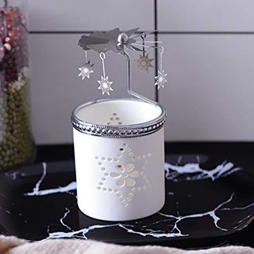 zenhalter Keramikkerzengläser Kerzenständer Laterne dekorative Hochzeit Mittelstücke, 4 ()