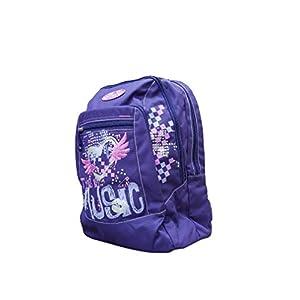 41xQcbeLpjL. SS300  - Seven - Mochila Escolar Americana con Orificio para Cable USB, 42 x 30 x 21 cm, Color Morado