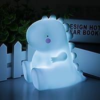 Cute Dinosaur Night Light LED Gift Lamp for Kids Festival Indoor Decor Novelty Toy for Kids,Children Nightlight for Home,Shelf,Bedside,Halloween,Christmas