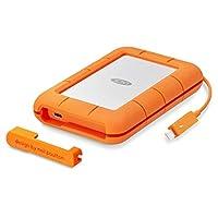 LaCie STFS5000800 Portable Rugged External Hard Drive - 5000 GB, Orange