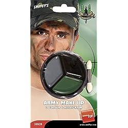 Smiffys Maquillaje militar, con aplicador