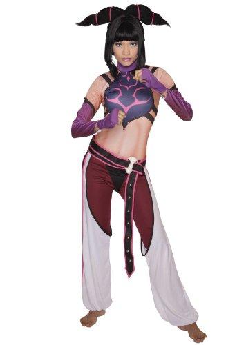 Street Fighter Juri Kostüm - Medium (Streetfighter Kostüm)