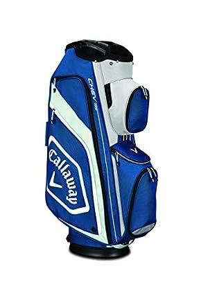Callaway Chev Org Bolsa para Palos de Golf, Hombre, Azul/Plata/Blanco, Talla Única