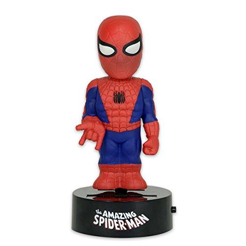 Preisvergleich Produktbild The Amazing Spider-Man Body Knocker Wackelfigur Solarbetrieben ca. 15cm