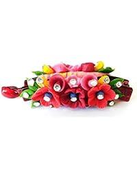Handmade Artificial Jewellery Proceline Dough Work Banana Hair Clip /Proceline Dough / Hair Accesoseries /hair... - B073WCMGLP