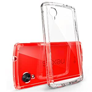 Nexus 5 Case - Ringke FUSION Case [Free HD Film/Drop Protection][CRYSTAL VIEW] Shock Absorption Bumper Premium Hard Case for Google Nexus 5 - Eco/DIY Package