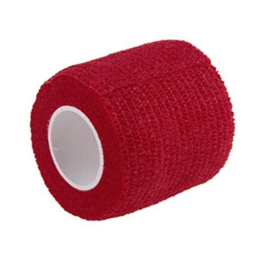 PoeHXtyy Self Adherent Bandag et Vet Wrap Schüttgut Tape für Wrist Ankle Sprains Schwellungen Rote Ankle Wrap