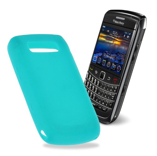 9700 Cover (Caseit Silikon Schutzhülle Case Cover für BlackBerry 9700 - Aqua)