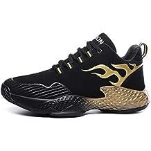 YAYADI Zapatos para Hombres Zapatillas Casual Zapatillas para Correr Zapatos Fitness Equitación Yoga Transpirable Y Ligera