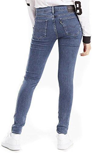 Levi's® Damen Jeans / Skinny Jeans Line 8 Mid Blau