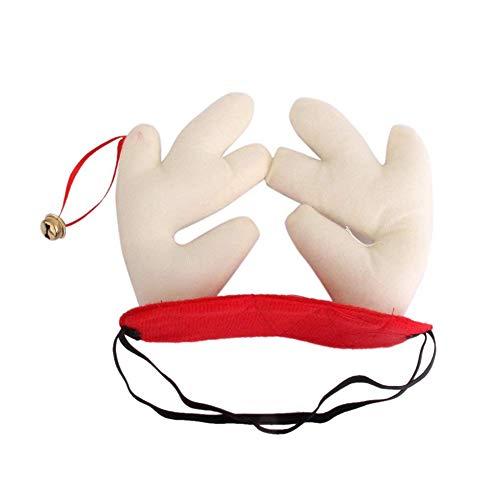 Outtybrave Mütze für Hunde und Katzen, Weihnachten, Elch -