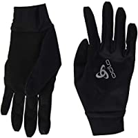 Odlo Gloves ZEROWEIGHT Warm Guante, Unisex, Negro, Medium