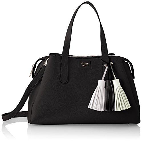 Guess Damen Bags Hobo Schultertasche, Schwarz (Black), 14.5x24x36.5 centimeters (Taschen Schuhe Guess)