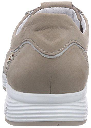 Mephisto Yamina Bucksoft 6960/perlkid 10168 Warm Grey, Low-Top Sneaker femme Beige
