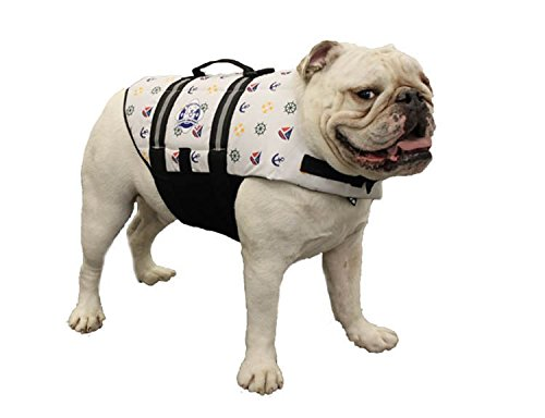 Artikelbild: FIDO Pet Products Paws Aboard Doggy Life Jacket, Medium, Nautical Hund