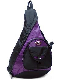 Calpak Sling Messenger Black 18-inch Sling Style Backpack, Purple, One Size