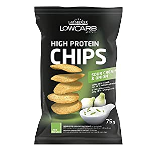 Layenberger LowCarb.one High Protein Chips Sour Cream & Onion, 75 g