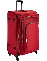 Skybags Footloose Levin Polyester 78 cms Red Softsided Suitcase (STFLW78ERED)