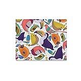 YSJXIM Arte della Parete Pittura Uccelli Stampe su Tela Immagine Paesaggio Immagini Olio per la casa Decorazione Moderna Stampa Decor for Living Room