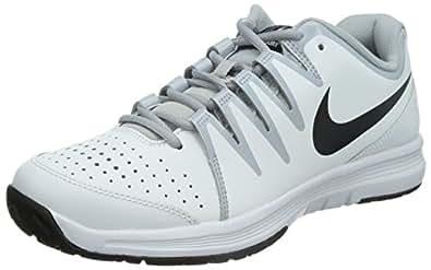 Nike Vapor Court, Chaussures de Tennis homme, Blanc (Weiß/Wolfsgrau/Schwarz 101), 42.5