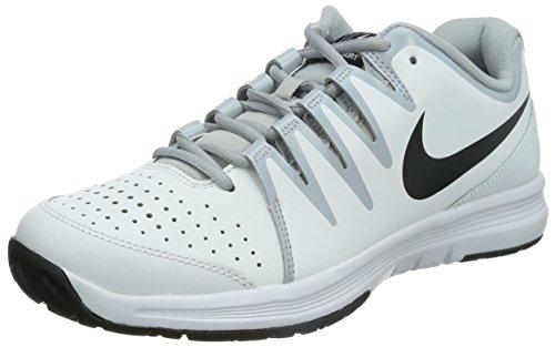 Nike  Air Vapor Court,  Herren Tennisschuhe , - Blanc (Weiß/Wolfsgrau/Schwarz 101) - Größe: 38 1/2