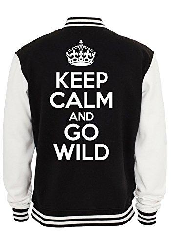 keep-calm-and-go-wild-college-jacket-noir-xxl