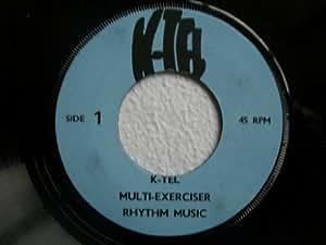 """ANON K-Tel Multi-Exerciser Rhythm Music 7"""" vinyl"""