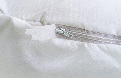 Aller-Ease Bettwanzen Gepäck rutschsicher, Handgepäck, klein, Polyester, weiß, Large (Bugs Liner Bed)