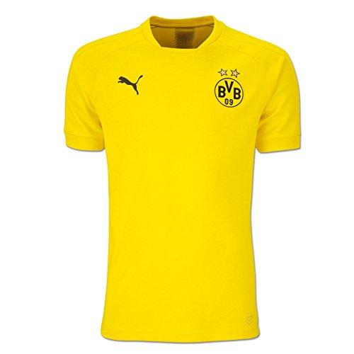 Puma BVB 09Borussia Dortmund Casual Camiseta de 17/18, amarillo
