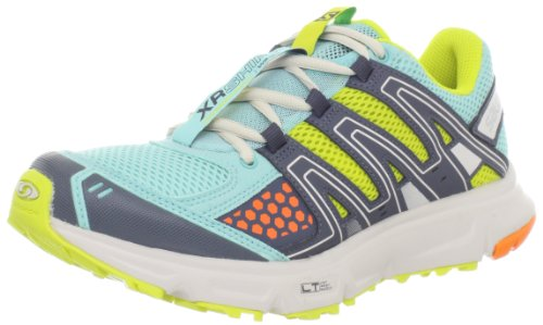 Salomon XR SHIFT W Zapatillas para Correr Trail Running Azul Amarillo para Mujer Sensiflex