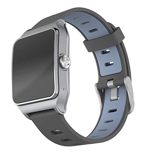 LEOTEC GPS Total Heart II - Smartwatch, Color Gris