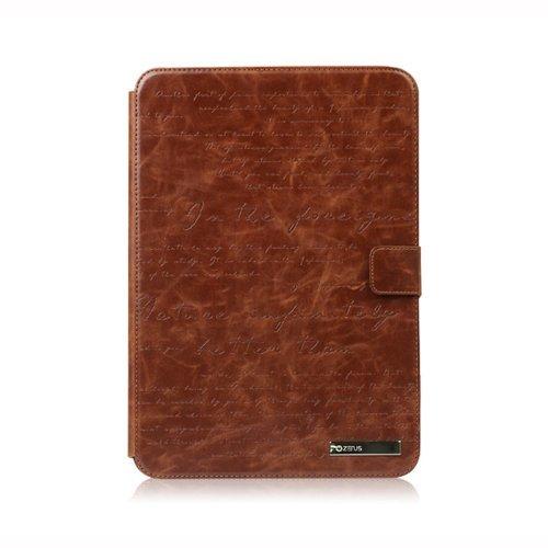 Zenus Masstige Lettering Diary Case/Tasche Braun für Samsung Galaxy Note 10.1