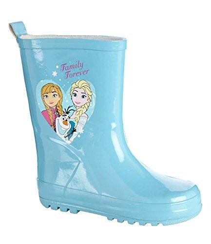 Disney Frozen Elsa e Anna Ragazze Stivali da pioggia 2016Collection-turchese Turquoise 31 cm/32 cm