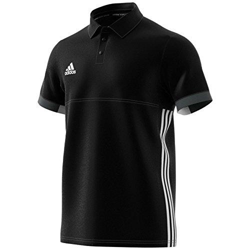 adidas Herren T16 Team M Polo, Black/Dgh Solid Grey, 2XL