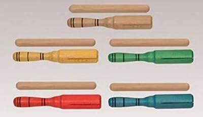 GUIRO - Goldon (33146) Tipo Agogo (Con Maza) Madera (Verde)