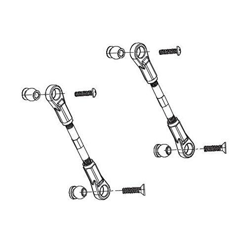 Carson 500405324 - Modellbauzubehör: FY8 Lenkgestänge, 2 Stück Preisvergleich