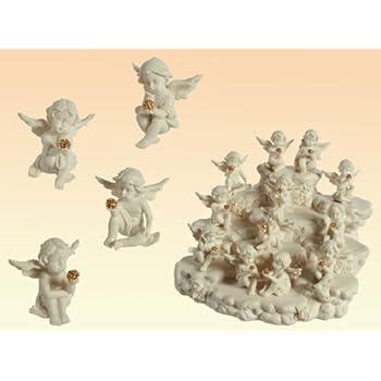 WPXBF Statue Soprammobile Statuine Puntelli per Statue in Ceramica A Forma di Mela con Decorazione A Forma di Mela