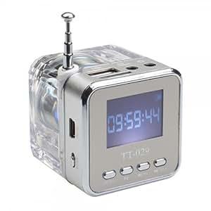 Mini Radio Haut Parleur Lumineux