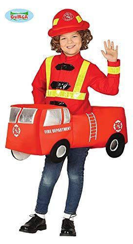 Fiesta Guirca Feuerwehrauto Kostüm Kinder Feuerwehr Auto Kostüm (Kinder-auto-kostüm)