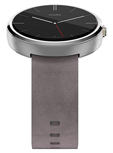 Motorola Moto 360 SmartWatch Inoxidable y Frecuencia Card  aca Actividad Tracker con conectividad Bluetooth  Compatible con Android 4 3   Smartphones